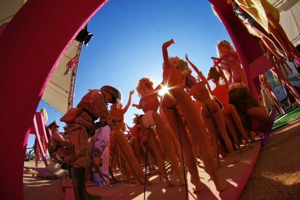 Burning Man, Barbie